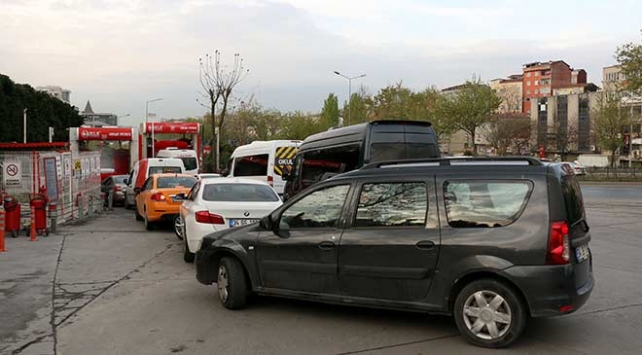 İstanbuldaki toz taşınımı oto yıkamacılara yaradı