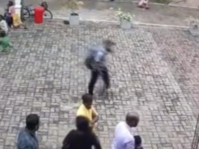 Sri Lanka kilise saldırısının şüphelisi kamerada