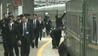 Kuzey Kore lideri Kim Jong-un'a Rusya'da titiz karşılama