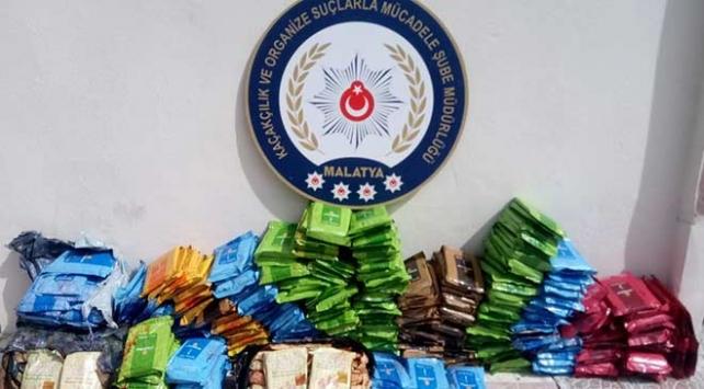 Malatyada 679 kilo kaçak tütün ele geçirildi
