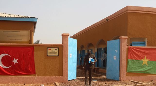 TİKAdan Burkina Fasoda eğitime destek