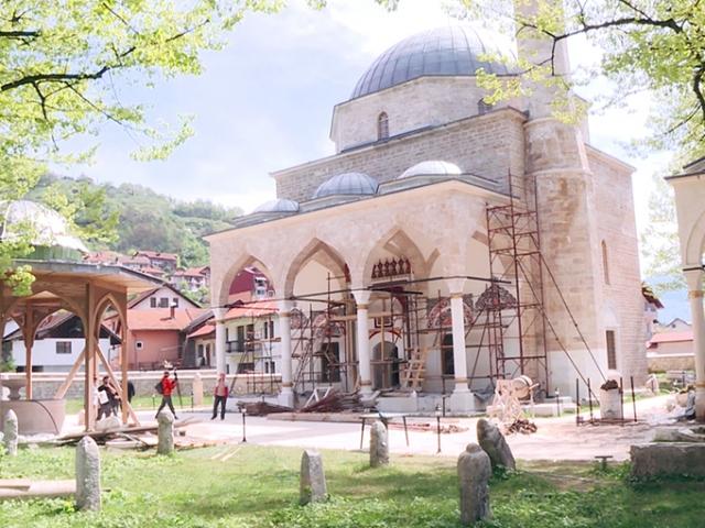 Bosna-Hersek'teki Alaca Camii yeniden ibadete açılıyor