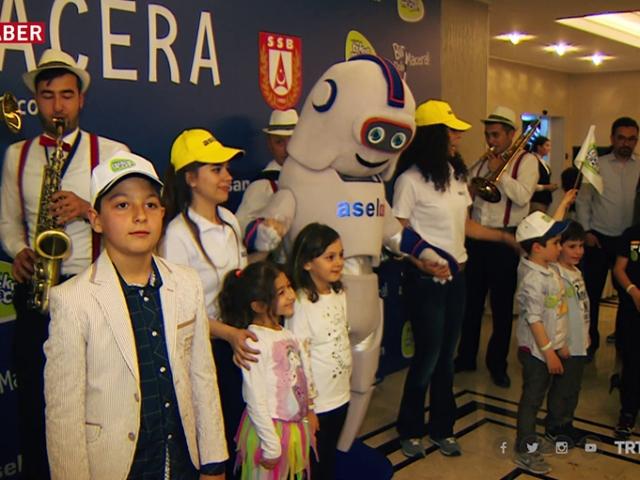"""ASELSAN'ın çocuklar için hazırladığı """"Tekno Macera""""sı neşeli bir toplantı ile tanıtıldı"""