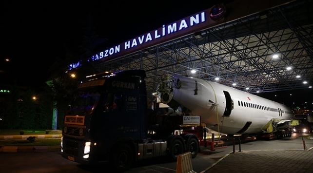 Trabzon Havalimanı 8 saat uçuşlara kapatıldı