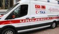 TİKA'dan Arnavutluk'a 5 ambulans hibe edildi
