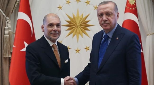 Cumhurbaşkanı Erdoğan Arjantin Ankara Büyükelçisini kabul etti