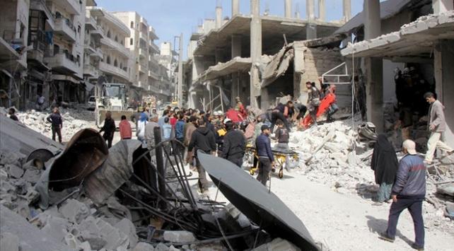 Son bir haftada İdlibde 36 sivil hayatını kaybetti