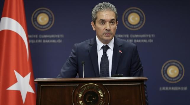 Dışişleri Bakanlığı Sözcüsü Aksoy: ABDnin dayatmalarla sonuca ulaşamayacağını anlaması gerekiyor