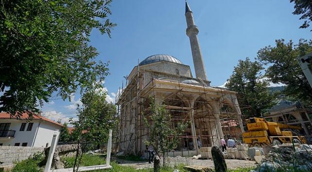 Bosna Hersekte Foça Alaca Camisi ibadete açılıyor