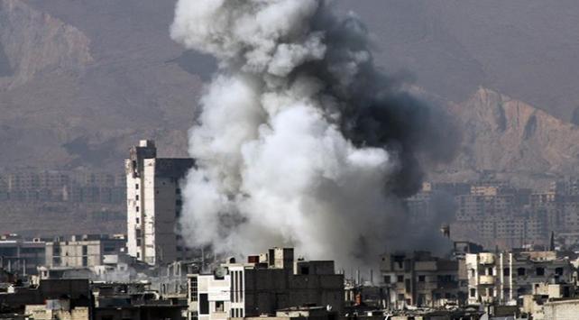 Esedin İdlibe saldırıları sürüyor: 1 ölü, 3 yaralı