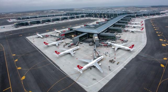 Türkiyenin yeni havalimanından uçuş rekoru