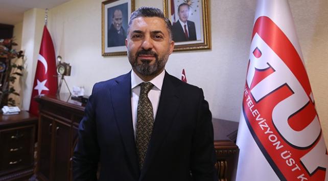 RTÜK Başkanı Şahinden TRT Genel Müdürü Erene kutlama