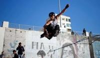Gazze kaykay takımı imkansızlıklara meydan okuyor