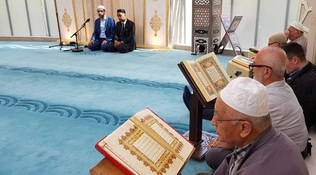 Almanyadaki camilerde mukabeleler başladı