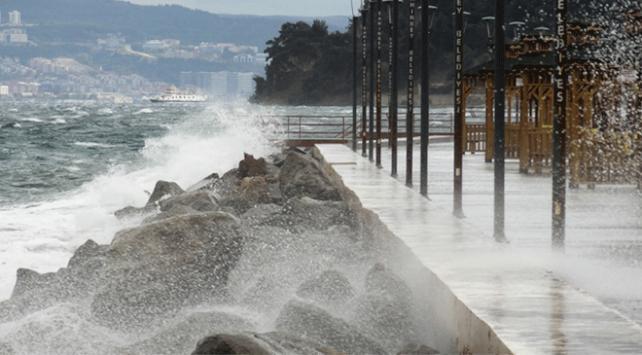 Meteorolojiden Trakya ve Kıyı Ege için kuvvetli fırtına uyarısı