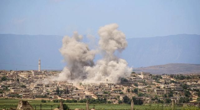 """""""İdlib Gerginliği Azaltma Bölgesi""""ne saldırılar devam ediyor"""