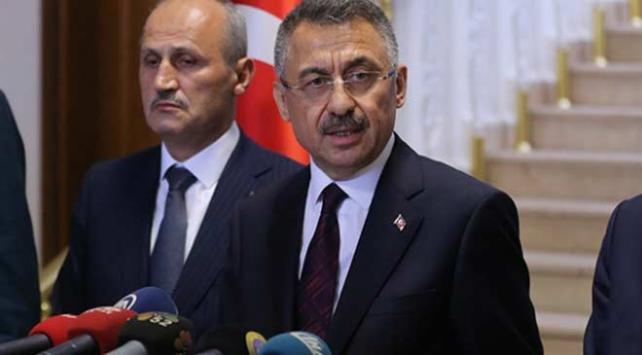 Cumhurbaşkanı Yardımcısı Oktay: AA ofisinin vurulması Türkiyenin kararlılığını değiştirmez