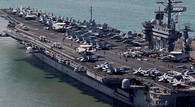 ABDden İrana uçak gemisi ile gözdağı