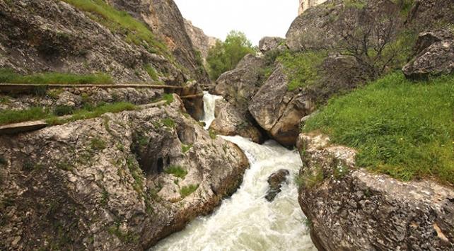 Tohma Kanyonunun kapalı bölümleri turizme kazandırılıyor