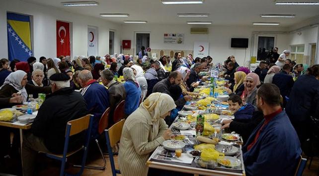 Türk Kızılay Srebrenitsada iftar verdi