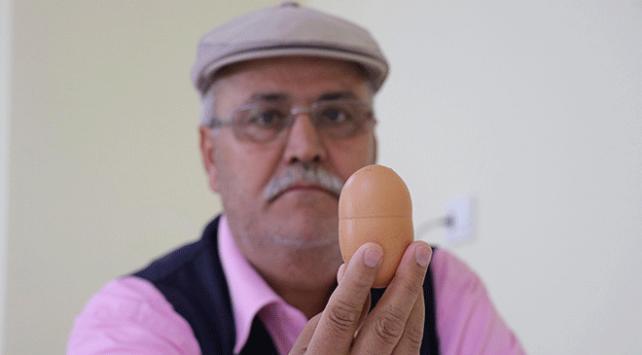 112 gramlık tavuk yumurtasına 100 lira ödedi