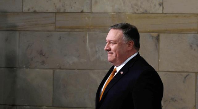 ABD Dışişleri Bakanı Mike Pompeo Bağdatta