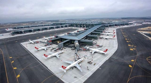 Türkiyenin yeni havalimanı 4 ayda 5 milyon yolcuya yaklaştı