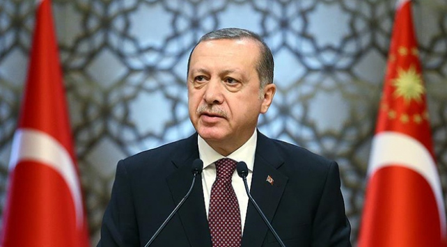 Cumhurbaşkanı Erdoğandan şehit ailesine başsağlığı