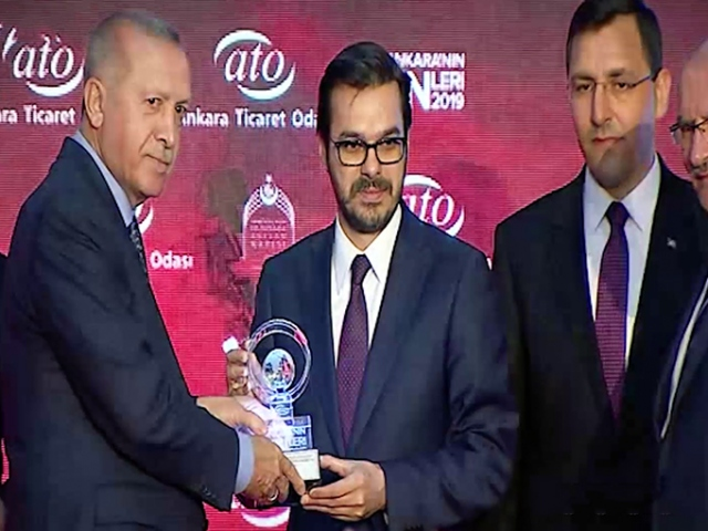 ATOdan 200 ülkeye dizi ve çizgi film ihraç eden TRTye ödül