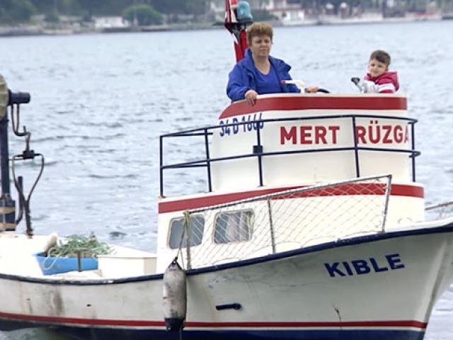 Sarıyerin Necla Reisi 45 yıldır denizde