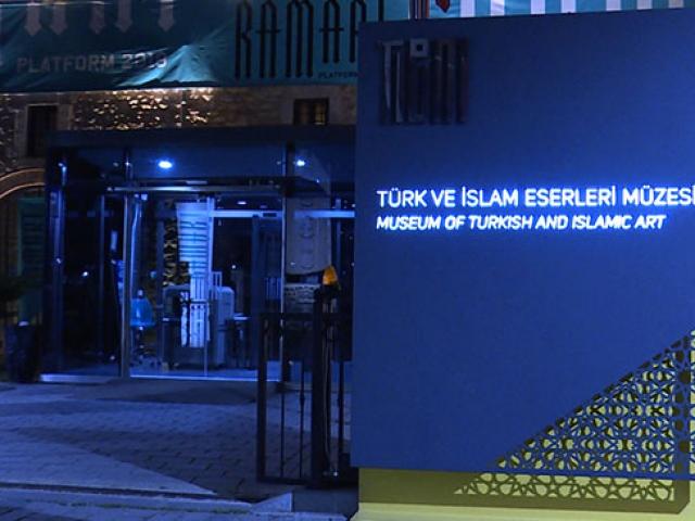 18 binden fazla eserin bulunduğu müze gece de gezilebiliyor