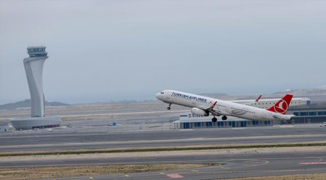 İstanbulun hava yolcusu 4 ayda 32 milyona yaklaştı