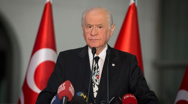 Bahçeli: MHP AK Partinin stratejisine katkı sağlayacak