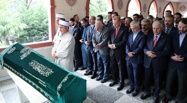 Cumhurbaşkanı Erdoğan cenaze namazına katıldı