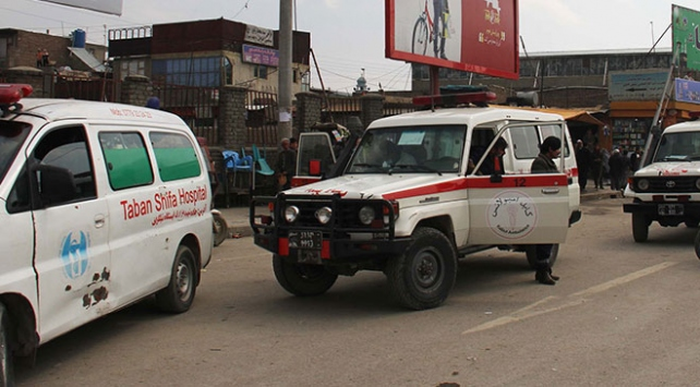Afganistanda patlama: 8 ölü