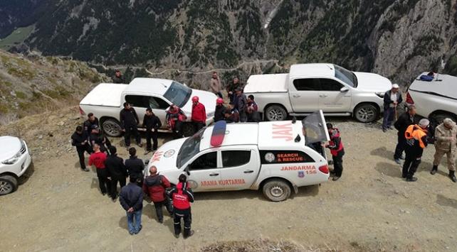 AA muhabirini arama çalışmaları 210 personelle sürüyor
