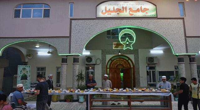 Kerkükteki camilerde Osmanlının iftar geleneği sürdürülüyor