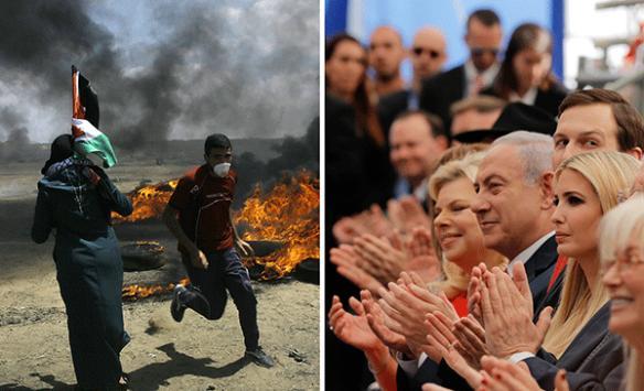 ABD Büyükelçiliğinin Kudüse taşınmasının üzerinden 1 yıl geçti