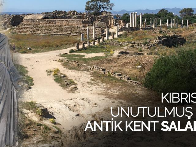 Kıbrısta unutulmuş bir antik kent: Salamis