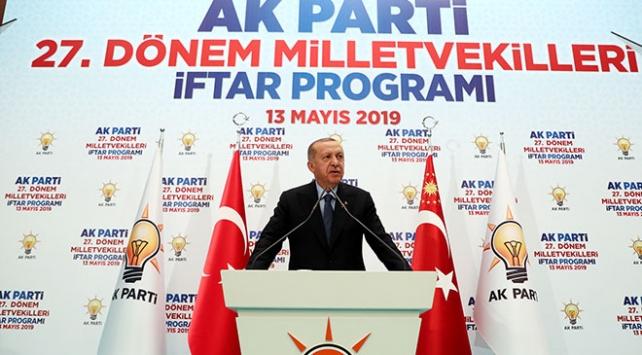 Cumhurbaşkanı Erdoğan: Seçimi kazandığı halde oyları çalınan AK Partidir