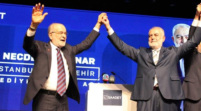 Saadet Partisi İstanbul kararını verdi