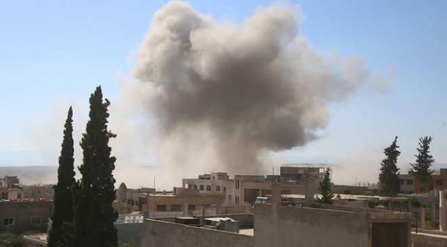 İdlibde iftardan önce pazara saldırı: 5 ölü, 20 yaralı