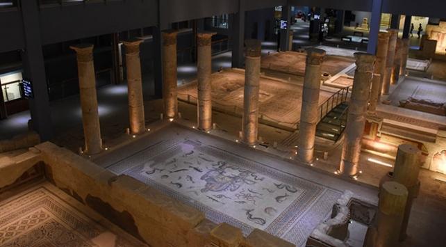 Zeugma Mozaik Müzesinde hedef 1 milyon ziyaretçi