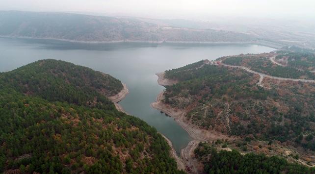 Ankaranın barajlarında doluluk oranı rekor seviyede