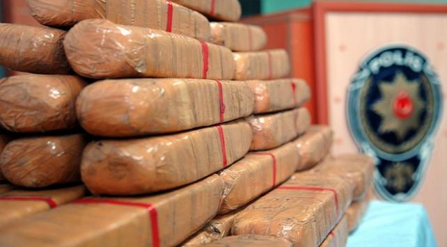 İstanbulda 10,5 ton uyuşturucu imha edildi