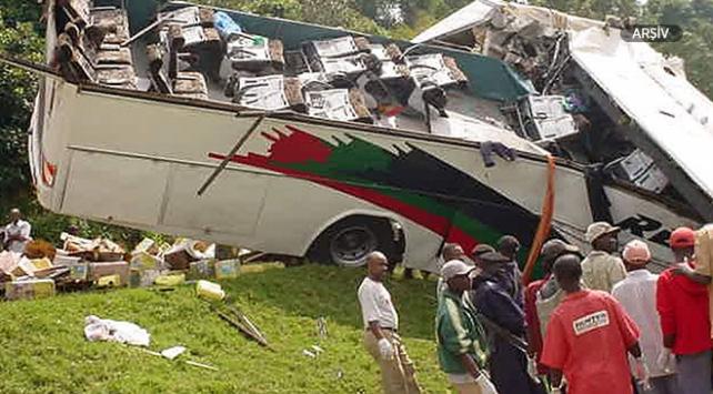 Ugandada trafik kazası: 19 ölü, 6 yaralı