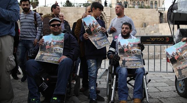 İsrail, Filistinli engellinin şehit edilmesi soruşturmasını kapattı