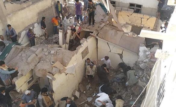 Koalisyon güçleri Yemende yine sivilleri hedef aldı
