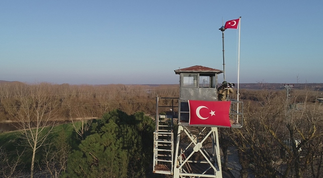 Edirne sınır hattında 3 yılda 546 FETÖcü yakalandı