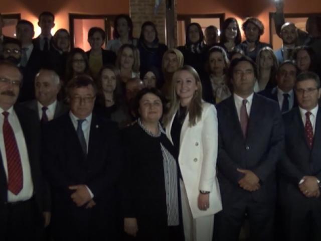 Türk azınlığın sesi DEB adaylarını tanıttı